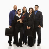 Ritratto di gruppo aziendale. — Foto Stock