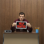 Help wanted. — Stock Photo