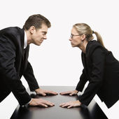 Confrontation. — Stock Photo