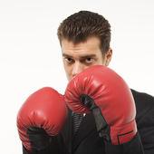 Empresario de boxeo. — Foto de Stock