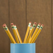 Wooden pencils. — Stock Photo