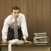 Man working in office. — Stock Photo
