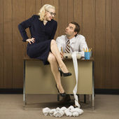 Office workers. — Stock Photo