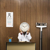 Doctor time concept. — Stock Photo