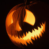Halloween jack-o-lantern. — Stock Photo