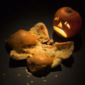 Halloween pumpkins. — Stock Photo