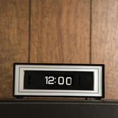 Retro analog clock. — Stock Photo