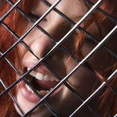 žena výraz. — Stock fotografie