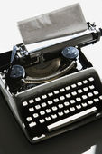 Schrijfmachine. — Stockfoto