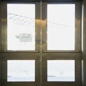 Dubbele deuren. — Stockfoto