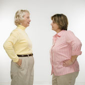 Women arguing. — Stock Photo