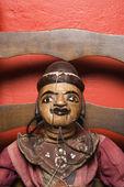 Wooden puppet. — Stock Photo