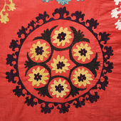 Asian textile pattern. — Stock Photo