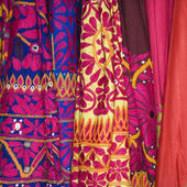 Colorful fabric. — Stock Photo