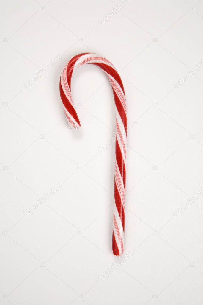 Still life of red and white candy cane. — Stock Photo #9531261