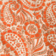 Paisley fabric detail. — Stock Photo