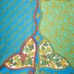 Постер, плакат: Vintage fabric detail