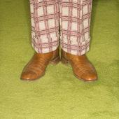 Pair of male feet. — Stock Photo