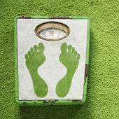 Vintage weight scale. — Stock Photo