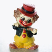 Vintage clown figurine. — Stock Photo