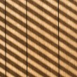 Stripes on paneling. — Stock Photo
