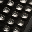 Typewriter keys. — Stock Photo #9550959