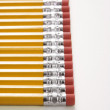 Royalty-Free Stock Photo: Row of pencils.