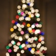 Blurred Christmas tree. — Lizenzfreies Foto