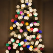 Royalty-Free Stock Photo: Blurred Christmas tree.