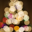 Blurred Christmas tree. — Stock Photo