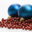 Christmas ornaments. - Stock Photo