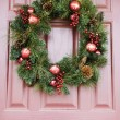 Christmas wreath. — Stock Photo #9551666