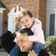 Father and daughter. — Stock Photo #9551843