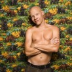 Shirtless male portait. — Stock Photo