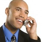 Man on cellphone. — Stock Photo
