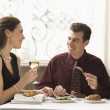 Couple dining. — Stock Photo #9553197