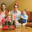 Family birthday party. — Stock Photo #9553505