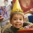 Boy at birthday party. — Stock Photo #9553518