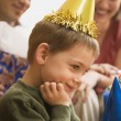 Boy at birthday party. — Stock Photo #9553520