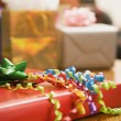 Wrapped gifts. — Stockfoto