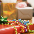 Stockfoto: Wrapped gifts.