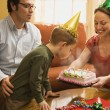 Family birthday party. — Stock Photo #9553527