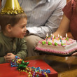 Boy at birthday party. — Stock Photo #9553529