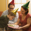 Family birthday party. — Stock Photo #9553535