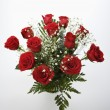 Bouquet of red roses. - Stockfoto