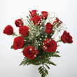 Bouquet of red roses. - Stock Photo