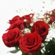 Royalty-Free Stock Photo: Bouquet of red roses.