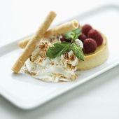 Gourmet dessert. — Stock Photo