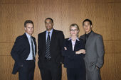 Businesspeople Standing Together — Stock Photo