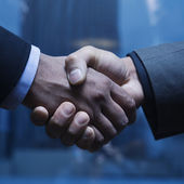 Business Handshake — Stockfoto